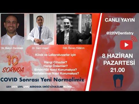 Dr. Burçin Karataşlı, Dr. Cem Uygur, Cdt. Özcan Yıldırım ile beraber pandemi ile beraber çalışmayı, yeni rutini ve bu süreçteki yeni cihazları konuşuyoruz.