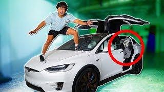DO NOT USE a Tesla X at 3AM! (Hacker)