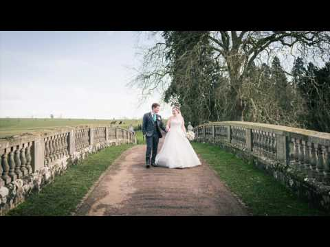 Compton Verney wedding of Charlotte and David