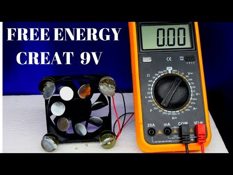 how to create free energy using magnets