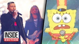 SpongeBob Appears in Super Bowl Halftime Show