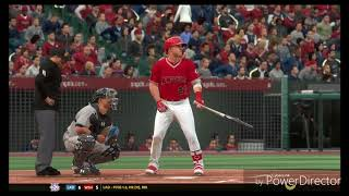 MLB The Show Franchise Mode 43 of 162 Angels vs Rays Game 2 HD