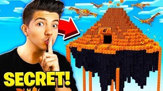 I FOUND PRESTONPLAYZ SECRET SKY BASE IN MINECRAFT!