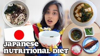 i ate the recommended 1975 JAPANESE NUTRITIONAL DIET for a week | clickfortaz