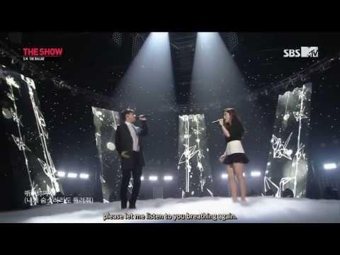 [Engsub] 140225 S.M. The Ballad (Zhang Liyin & Chen) - Breath