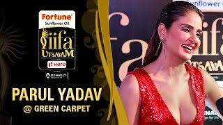 Parul Yadav | IIFA Utsavam 2017 | Talk With The Stars | Green Carpet