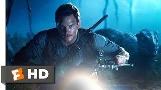 Jurassic World (2015) - Raptor Recon Scene (5/10) | Movieclips