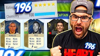 WTF 196 HIGHEST RATED DRAFT CHALLENGE! FIFA 18 Ultimate Team Draft