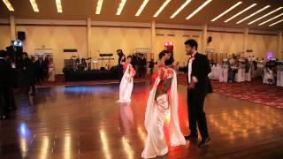 Wedding Dance - Saree Ke Fall Sa Dance  - Ramesha & Seesara Wedding  - E visual nest