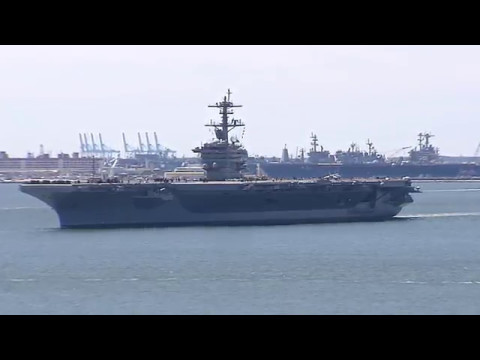 USS Abraham Lincoln (CVN 72) Embarks on Sea Trials