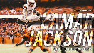 "Lamar Jackson - ""The Human Highlight Reel""    Career College Highlights"
