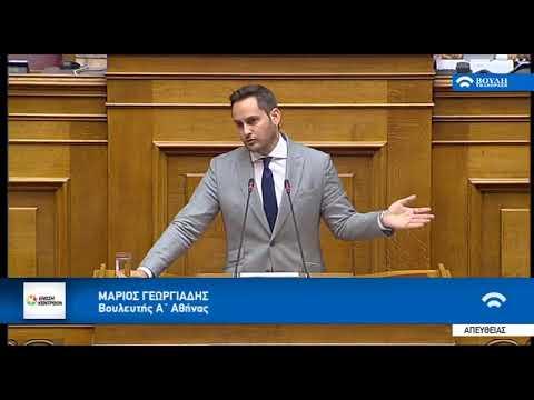 Μ. Γεωργιάδης / Ολομέλεια, Βουλή / 12-7-2018