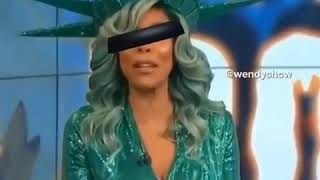 Wendy Williams took her blindfold off