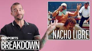 C.M. Punk Breaks Down Wrestling Scenes from Movies | GQ