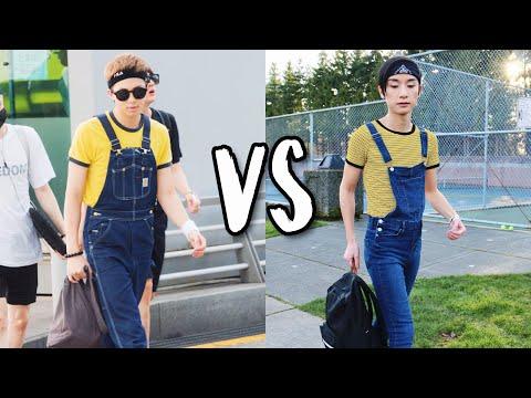 I Dressed like BTS for a Week! (J-Hope, Jimin, ALL THE BANGTAN BOYS)