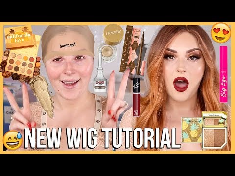COPPER HAIR makeup tutorial! ? new wig YASSS im obsessed