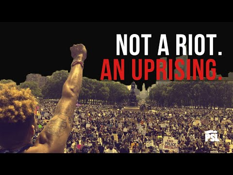 Not a riot. An UPRISING. Eugene Puryear of the PSL