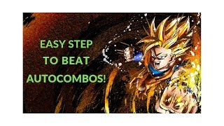Dragon Ball FighterZ - Simple step to beat autocombos!