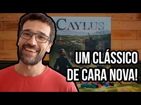 CAYLUS 1303 - Jogo na mesa!