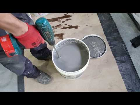 How to Fill Joints in Concrete Floors with EUCO QWIKjoint UVR