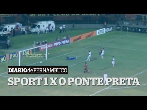 Sport supera a Ponte de Eduardo Baptista e respira contra rebaixamento