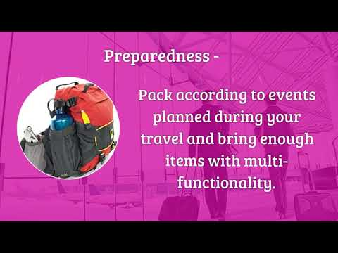 Tips on Readying for Travel