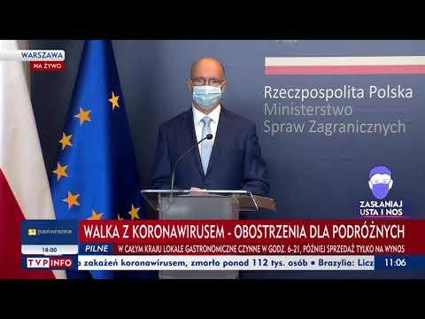 MSZ: Postanowiliśmy wprowadzić trzeci, globalny poziom ostrzeżenia
