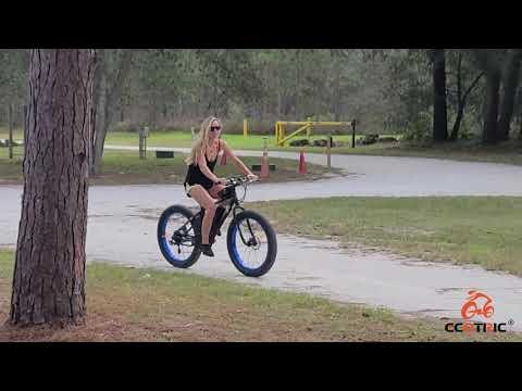 Ecotric 26'' Fat Tire Beach Snow Electric Bike