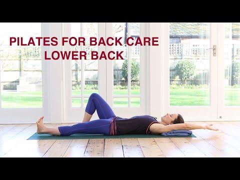 Pilates For Back Care - Lower Back 30 mins