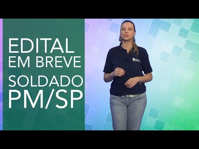 Concurso PM/SP - 5400 vagas autorizadas