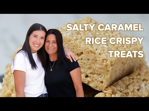 Salty Caramel Rice Krispies As Made By Bliss & Baker ? Tasty