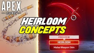 The BEST Heirloom Concepts In Apex Legends
