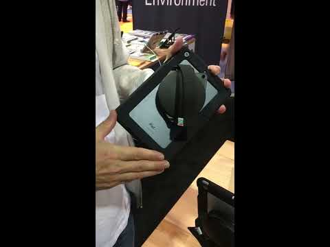 Hand Grip and Dock iPad Tablet Security Stand - Perfect for Mobile Workforce Security