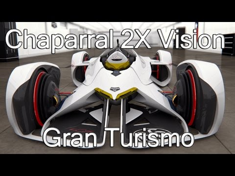 Chevrolet Chaparral 2X Laser Powered 240mph - Vision Gran Turismo