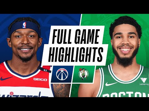 WIZARDS at CELTICS | FULL GAME HIGHLIGHTS | January 8, 2021