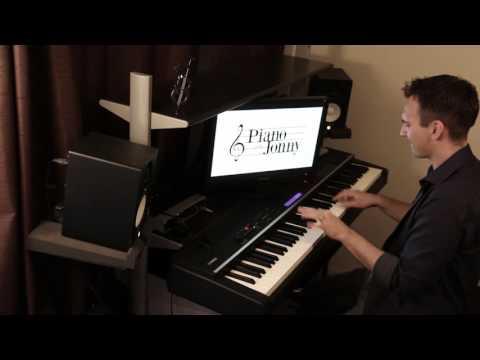 L-O-V-E Jazz Piano Cover by Jonny May
