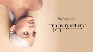 Ariana Grande - no tears left to cry (Official Audio)