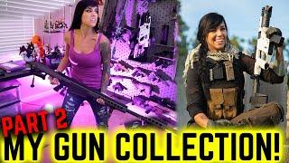 Alex Zedra's Gun Collection... & A SWORD?! Part 2