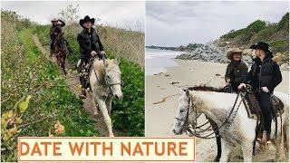Priyanka Chopra and Nick Jonas enjoy horse riding with oce..