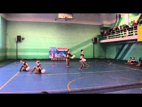Тренировки и выступления Cheerleading club Spirit видеоклип