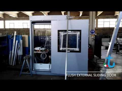 Flush External Sliding Door