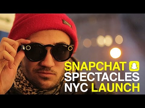 Snapchat Launches NYC Spectacles Store