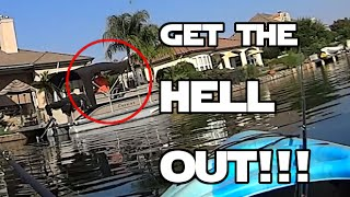 Old Guy Yells At Me While Fishing!