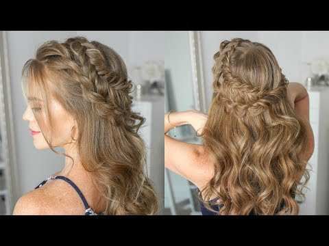 Half Up Dutch Fishtail & Twist Braid | Missy Sue