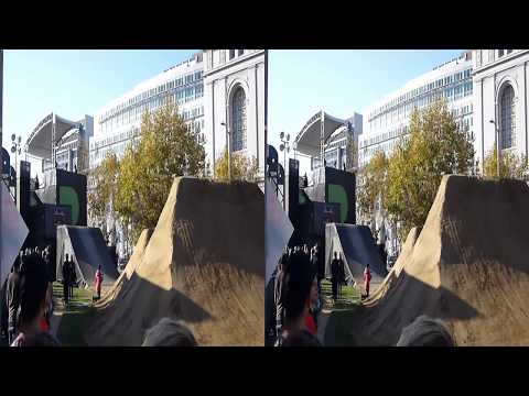 BMX Bike practice @ Dew Tour (YT3D:Enable=True)