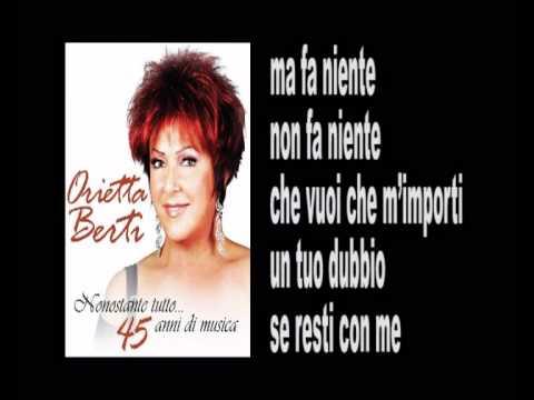 ORIETTA BERTI - IO TI DARO' DI PIU' - Lyrics & Karaoke.avi