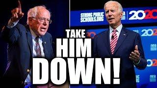 "Bernie Sanders Blasts Joe Biden's ""Totally Absurd"" Lies About Medicare For All"