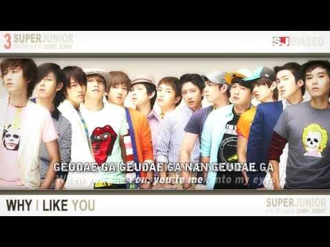 Super Junior - Why I Like You (Lyric Video)