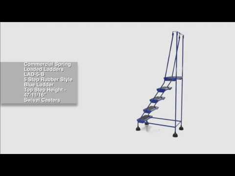 Commercial Spring Loaded Ladders LAD-5-B