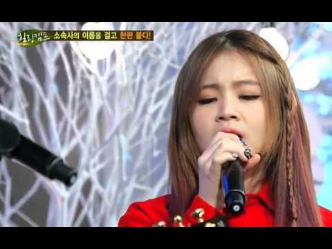 Lee Hi and AKMU Performing Lies x Lonely